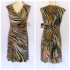 Studio 1 NWT Fit & Flare Lined Dress M